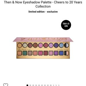 Too Faced Then and Now palette